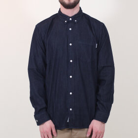 Carhartt WIP - Civil Shirt | Blue Rinsed