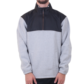 Levis - Skate Quarter Zip 2 | Black/Grey