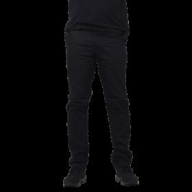 Alis - Classic Box Chino Pant | Black