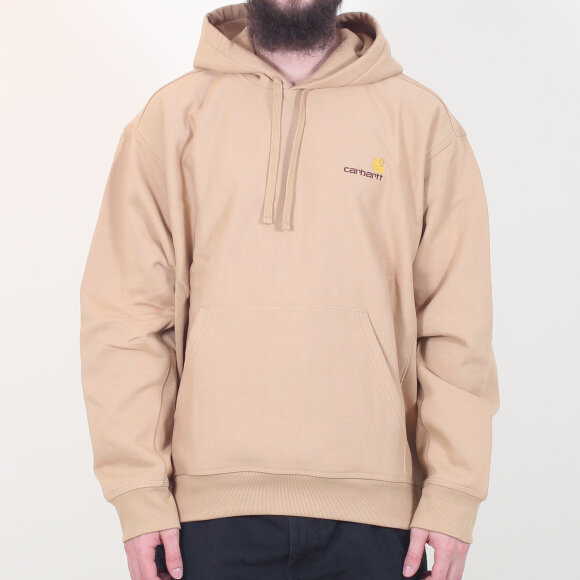 Carhartt WIP - Carhartt WIP - Hooded American Script Sweat | Dusty Hamilton