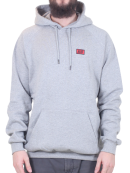 Alis - Alis - Classic Mini Logo Hoodie | Heather Grey