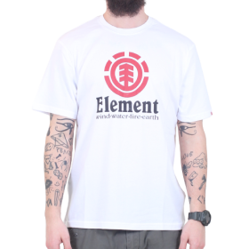 Element - Vertical S/S T-Shirt | White