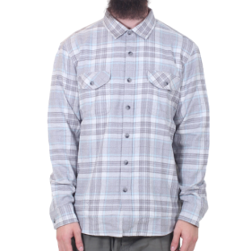 Vissla - Central Coast L/S Flannel | Gunmrtal