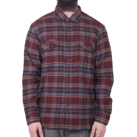 Vissla - Central Coast L/S Flannel | Blood