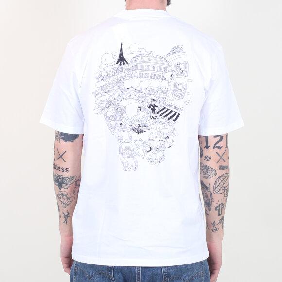 Carhartt WIP - Carhartt WIP - S/S Picnic In Paris T-Shirt