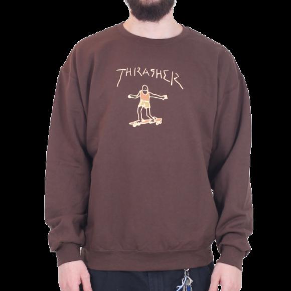 Thrasher - Thrasher - Crewneck Gonz Logo