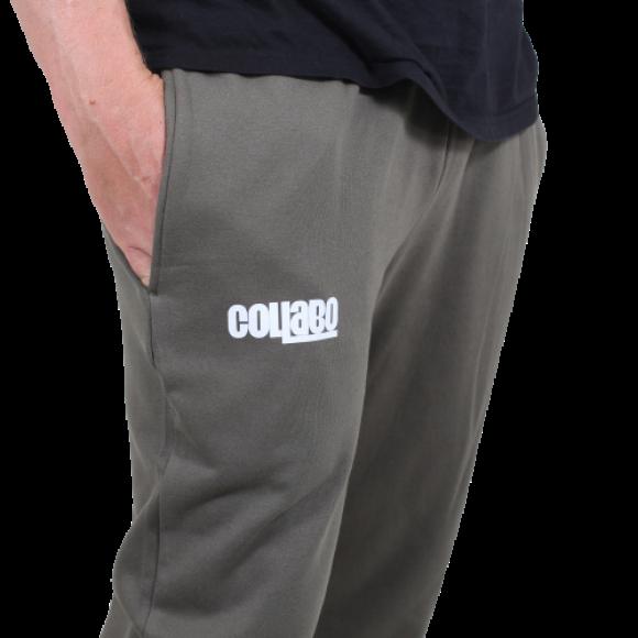 Collabo - Collabo - Logo Sweatpants | Olive Green