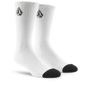 Volcom - Full Stone Sock 3Pack | White
