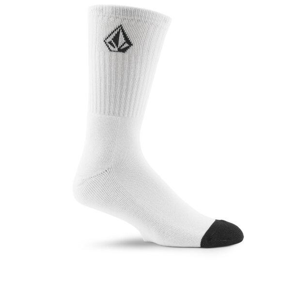 Volcom - Volcom - Full Stone Sock 3Pack | White