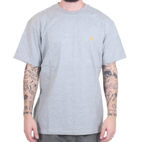 Carhartt WIP - S/S Chase T-Shirt | Grey Heather