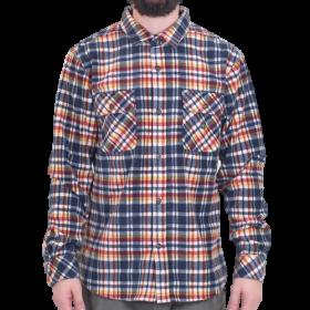 Vissla - Eco-Zy L/S Polar Flannel | Dark Naval