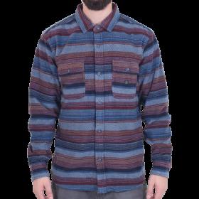Vissla - Eco-Zy L/S Polar Flannel | Dark Denim