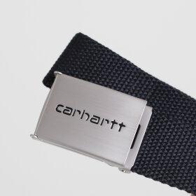 Carhartt WIP - Clip Belt Canvas | Black